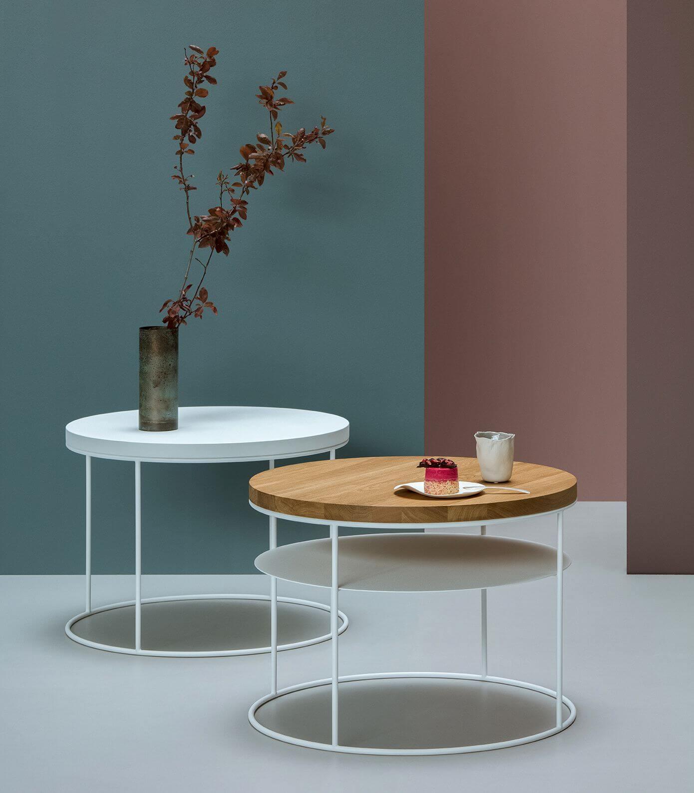 nowoczesny stolik z półką - take me HOME
