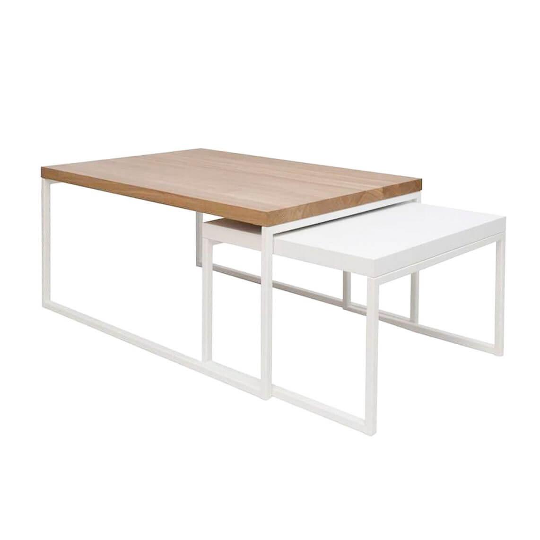 stolik do salonu skandynawski zestaw