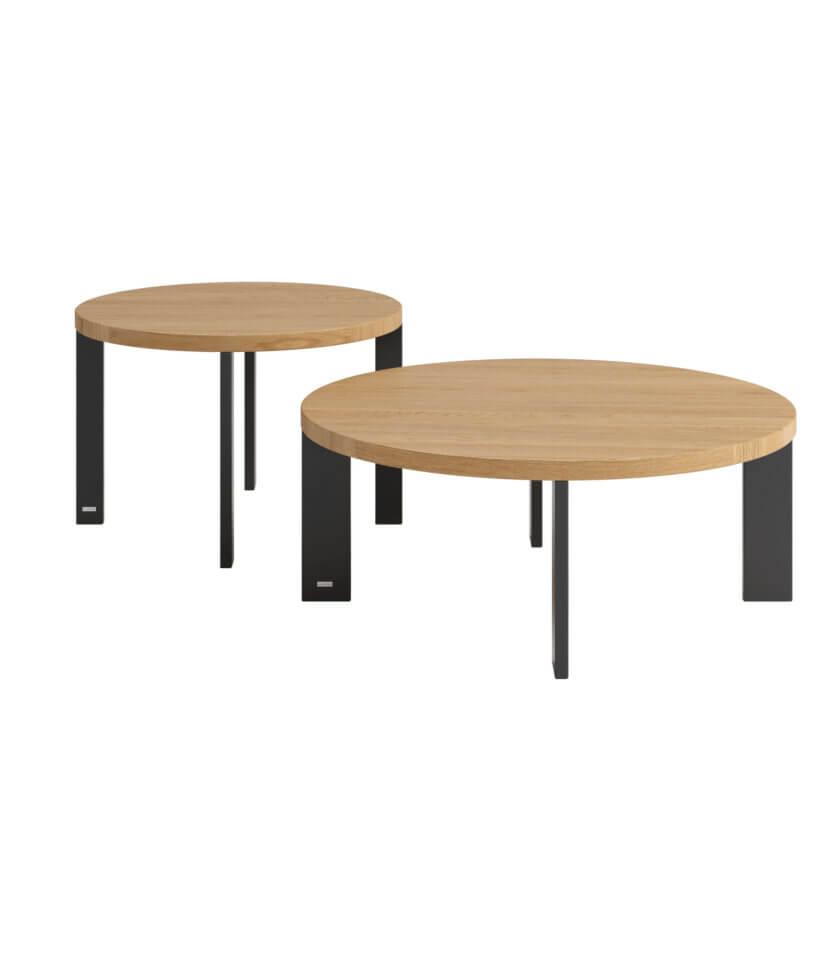 stolik kawowy okragly