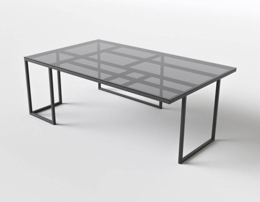 stolik do salonu geometryczny