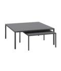 minimalistyczny czarny stolik kawowy do sofy