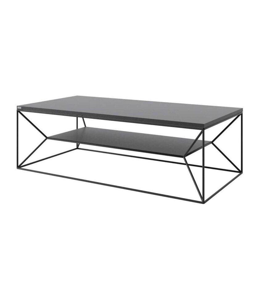 minimalistyczny stolik z polka