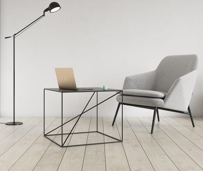 minimalistyczny stolik kawowy small x - take me HOME
