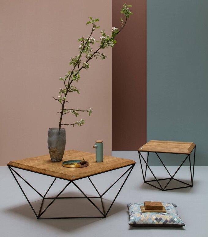 geometryczny stolik kawowy tulip