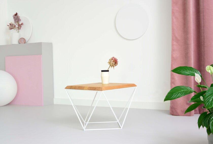 stolik kawowy nowoczesny debowy