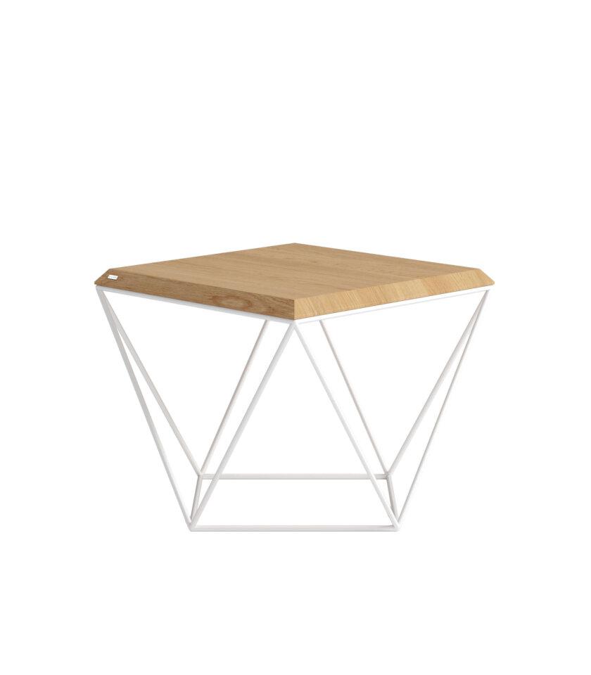 stolik kawowy biały