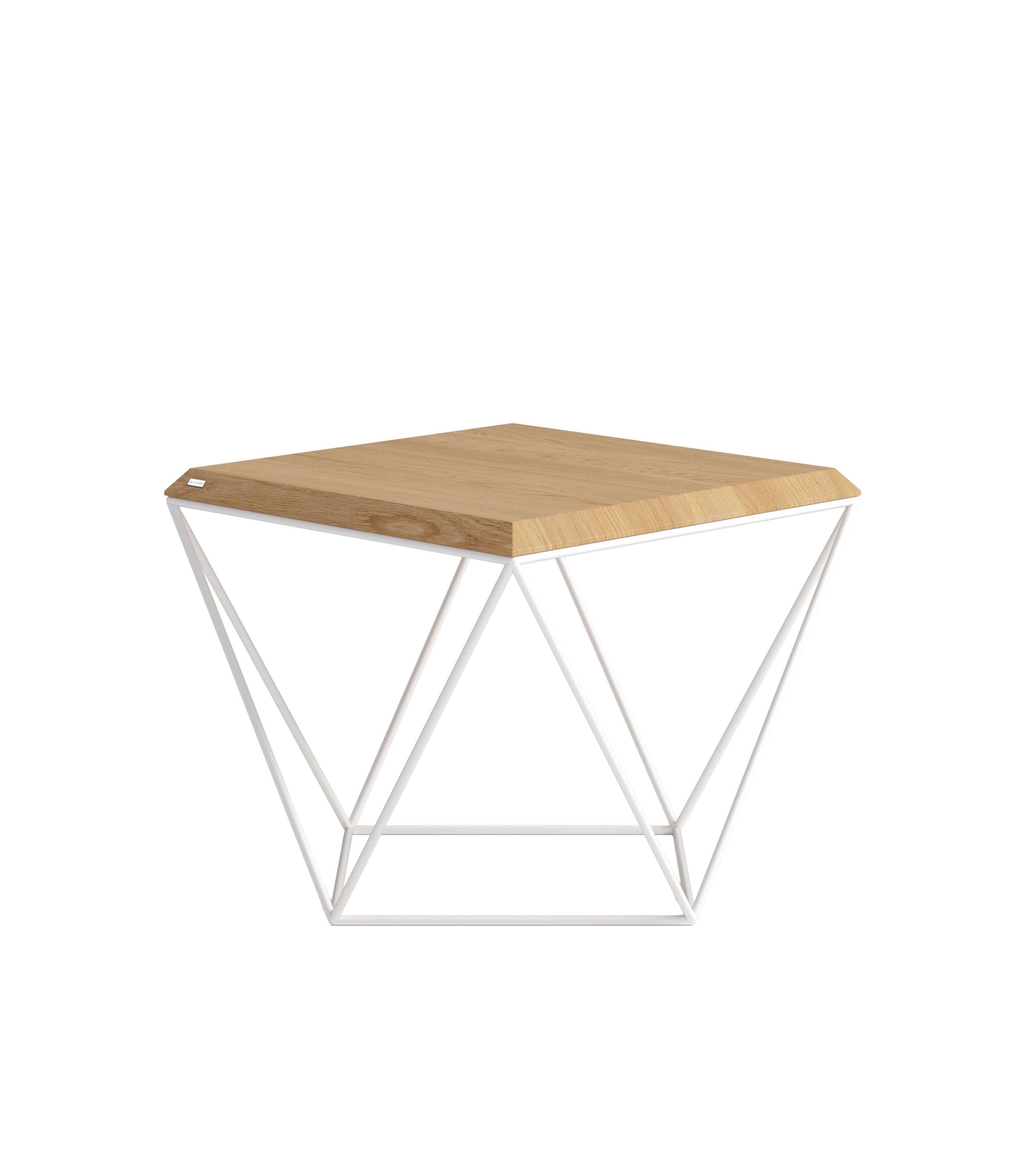 stolik kawowy geometryczny