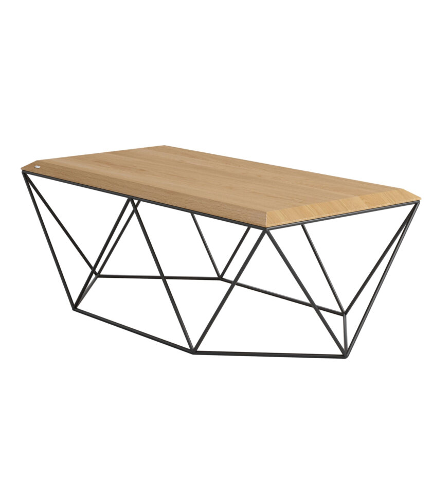 minimalistyczny stolik kawowy tulip