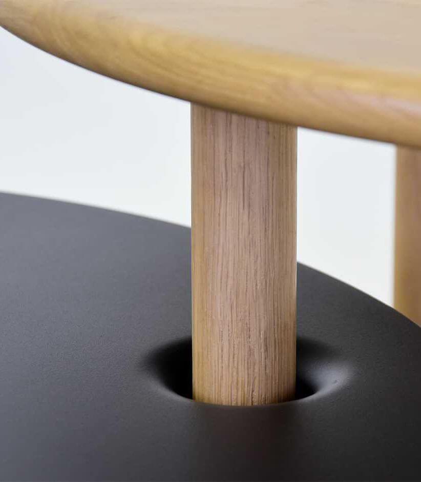 stolik kawowy czarny industrialny najlepszy design