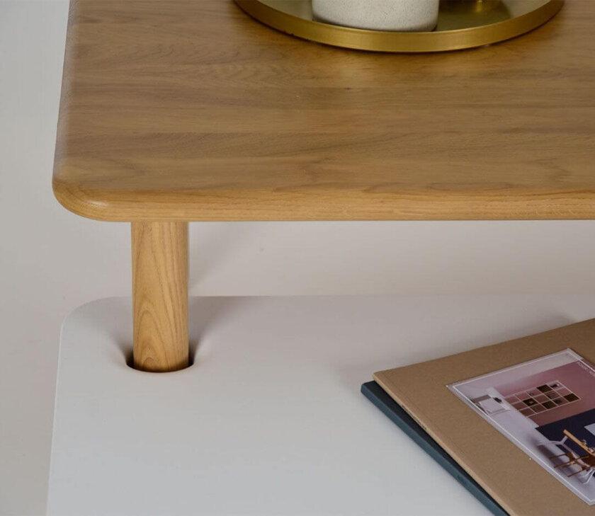 stolik z półką