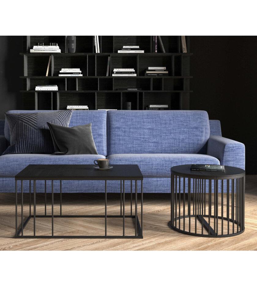 czarny nowoczesny stolik elegancki