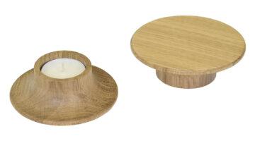 zatyczka | świecznik – wyposażenie stolika MILO