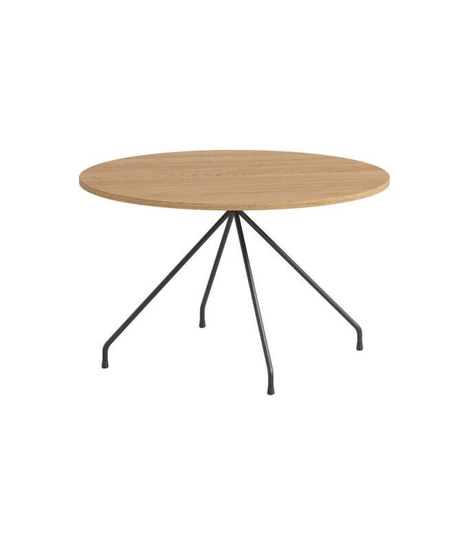 stolik kawowy okragly debowy