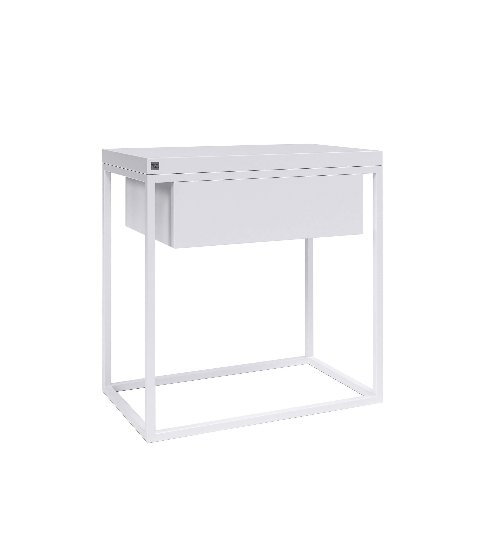 minimalistyczny stolik nocny moonlight z szufladą - take me HOME