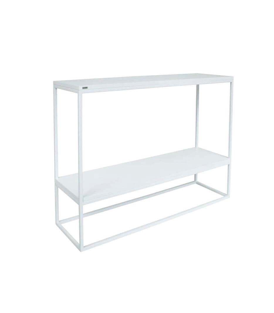 minimalistyczna konsola skinny z półką - take me HOME