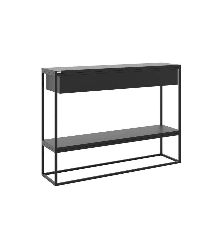 minimalistyczna konsola skinny xl z szuflada i polka