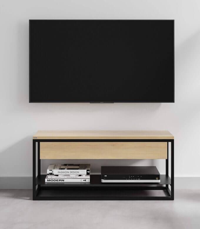 stolik szafka pod telewizor z szuflada