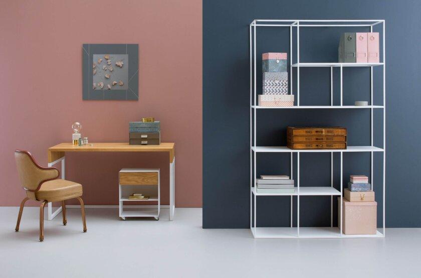 minimalistyczny nowoczesny regal a symetric