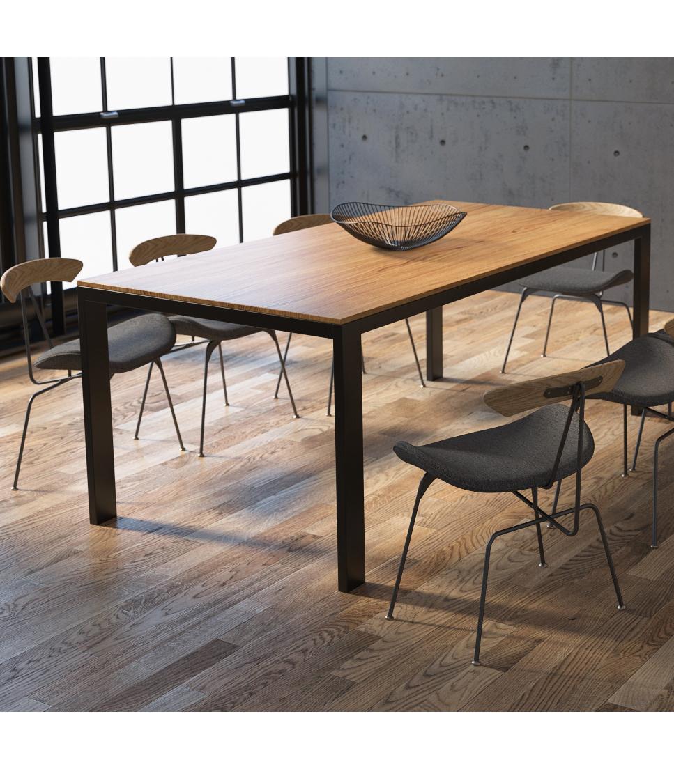 minimalistyczny stol delgado