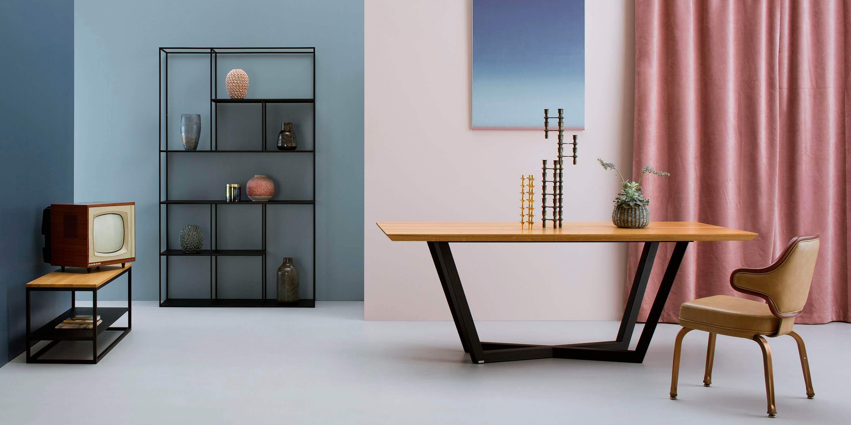 czarny stol nowoczesny design dab