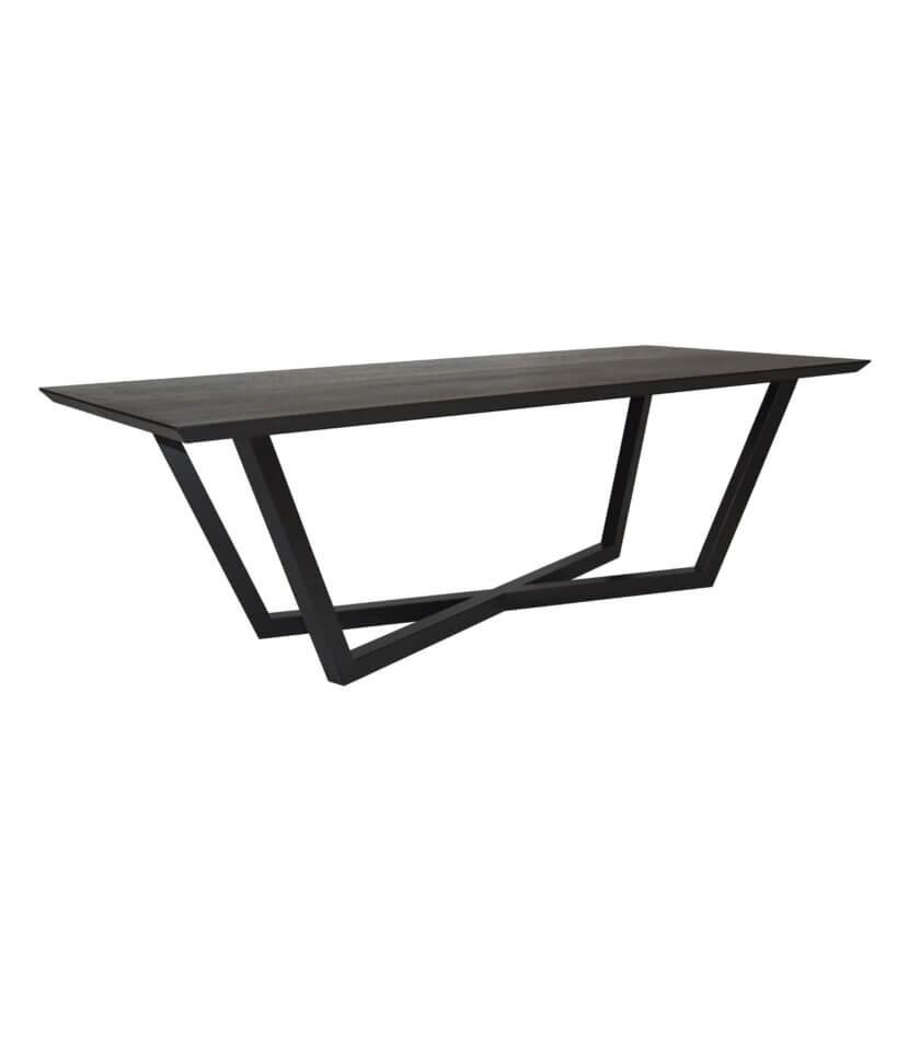czarny elegancki stol