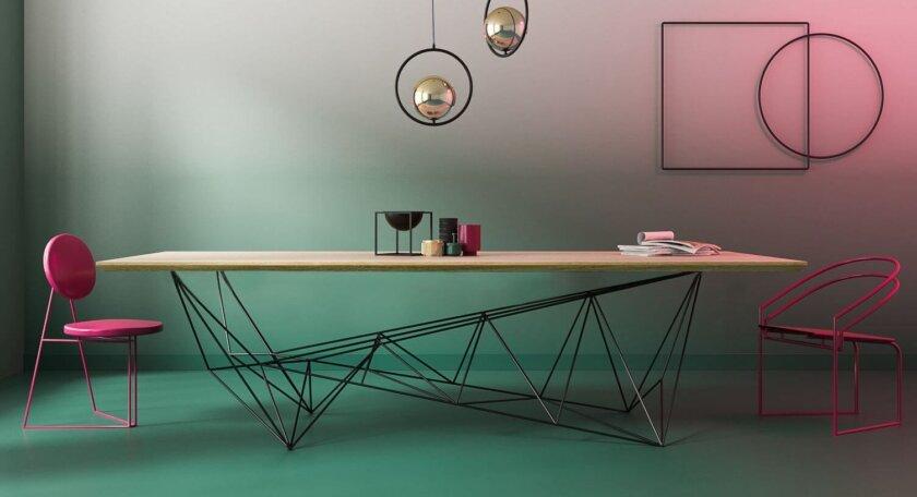 designerski stol konferencyjny