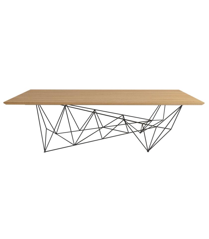 minimalistyczny stol konferencyjny origami