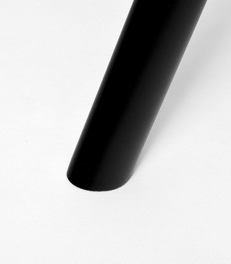 wygodny dębowy stół jadalniany czarny nowoczesny