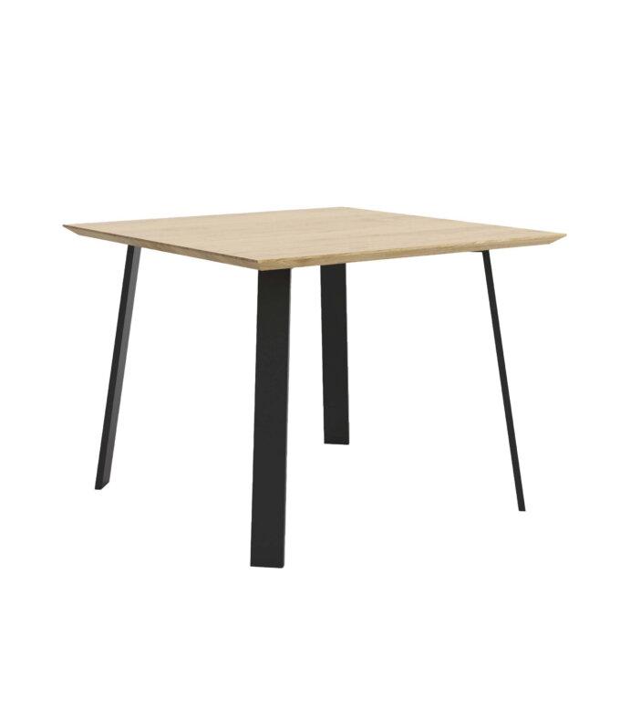 maly stol nowoczesny skandynawski dab
