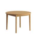 stol dab naturalny okragly 110 nowoczesny