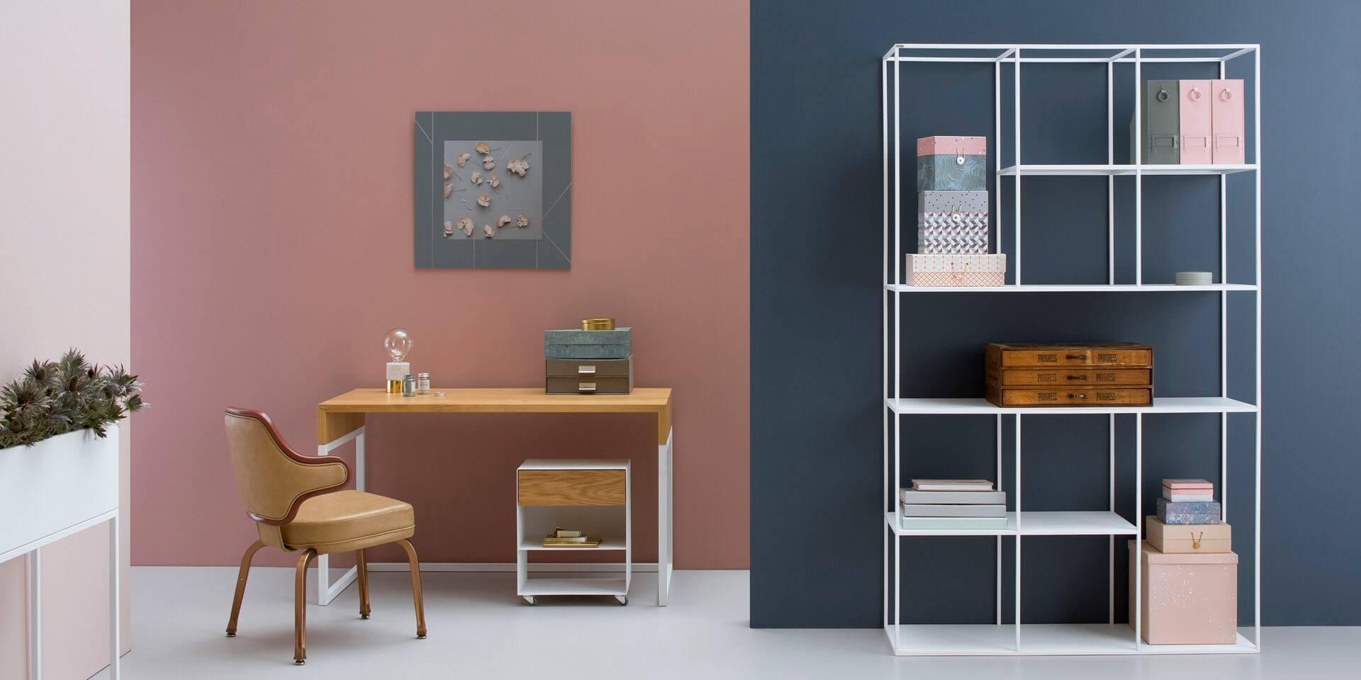 debowe nowoczesne biurko designerskie