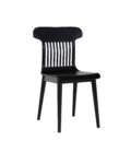 nowoczesne krzeslo czarne