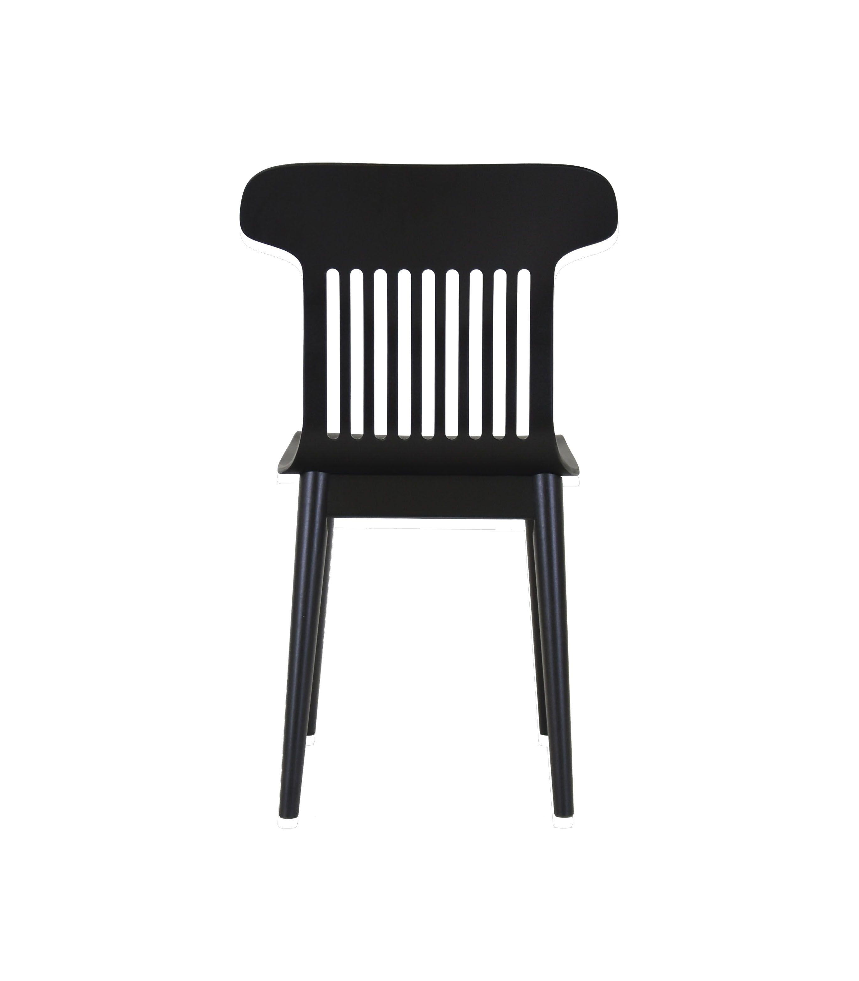 dębowe nowoczesne krzesło