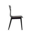 czarne krzeslo polski design drewno