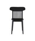 czarne krzeslo drewniane nowoczesne polski design
