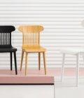 polski design krzeslo nowoczesne biale