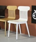 krzeslo maestro biale skandynawskie drewniane