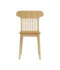 a krzeslo skandynawskie debowe naturalne