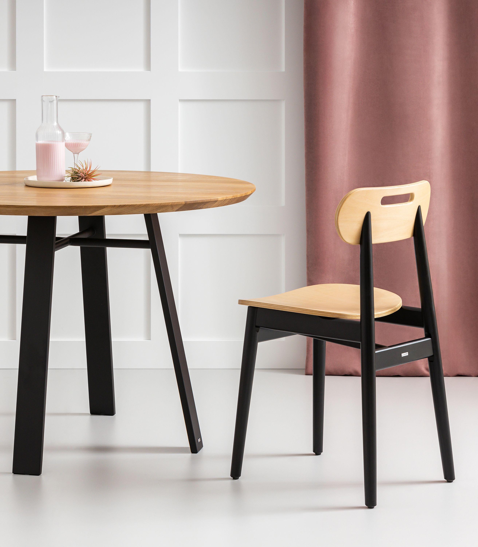 krzeslo nowoczesne drewniane dab