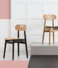 krzeslo debowe skandynawskie polski design