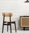 krzeslo drewniane dab naturalny polski design