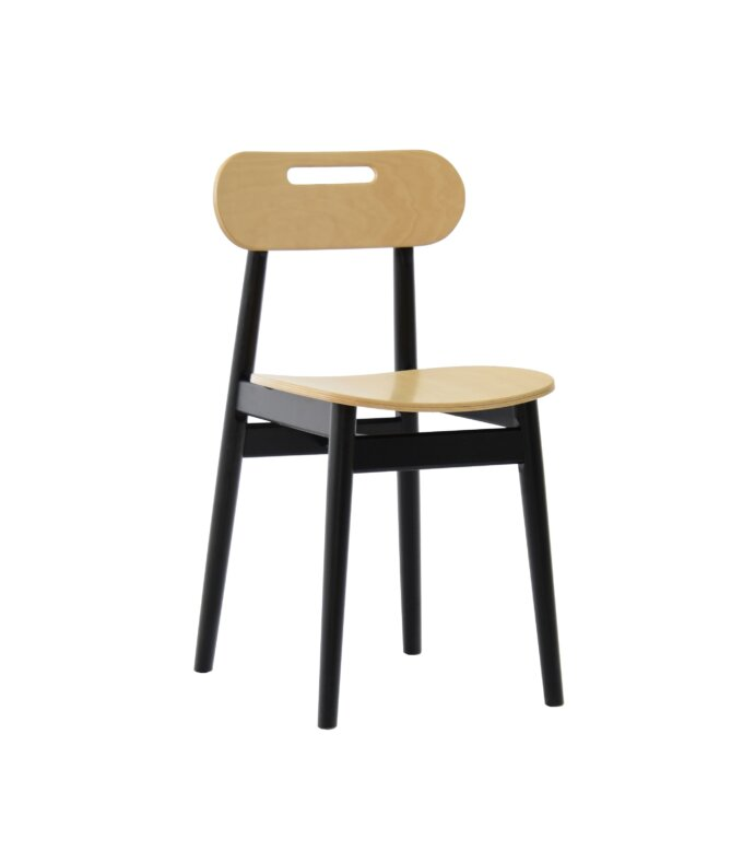 krzeslo debowe skandynawski styl