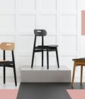 krzeslo debowe tapicerowane polski design