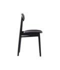 drewniena czarne krzeslo nowoczesne