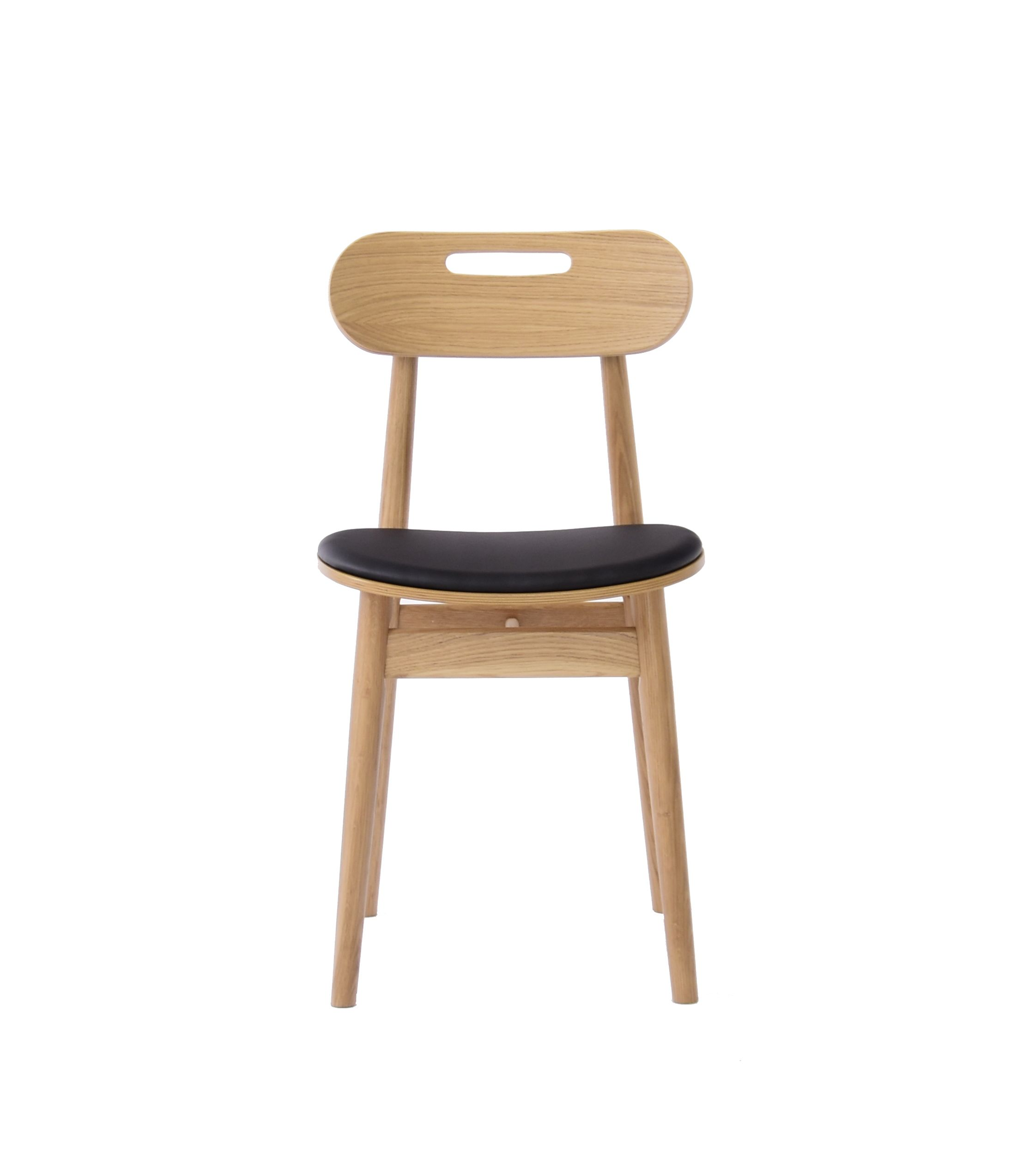 nowoczesne krzesło debowe