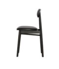 krzeslo czarne drewinane polski design