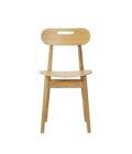 krzeslo w stylu skandynawskim drewniane