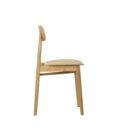 krzeslo debowe w stylu skandynawskim polski design