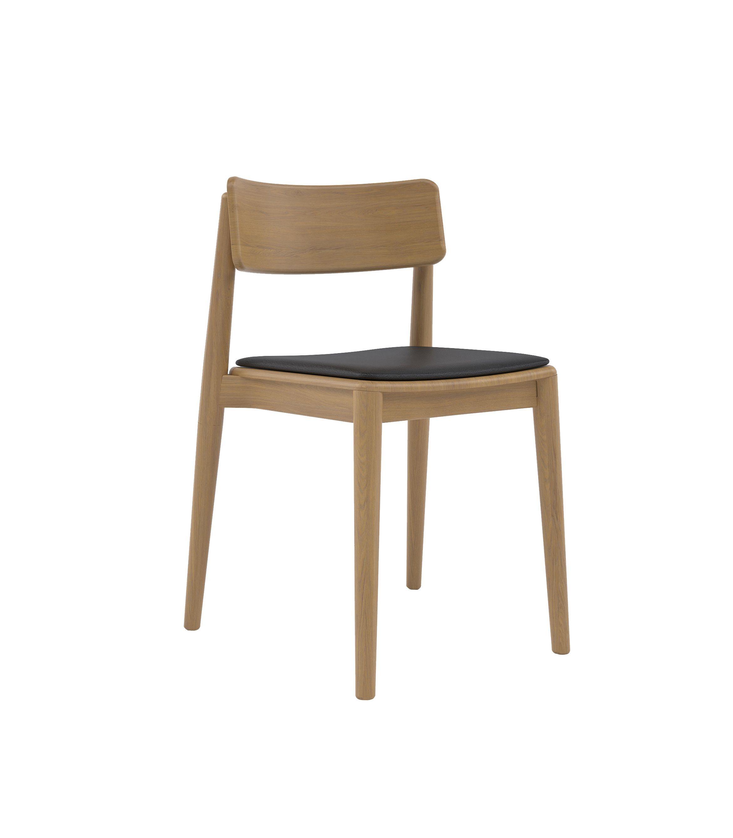 nowoczesne krzesło dębowe polski design