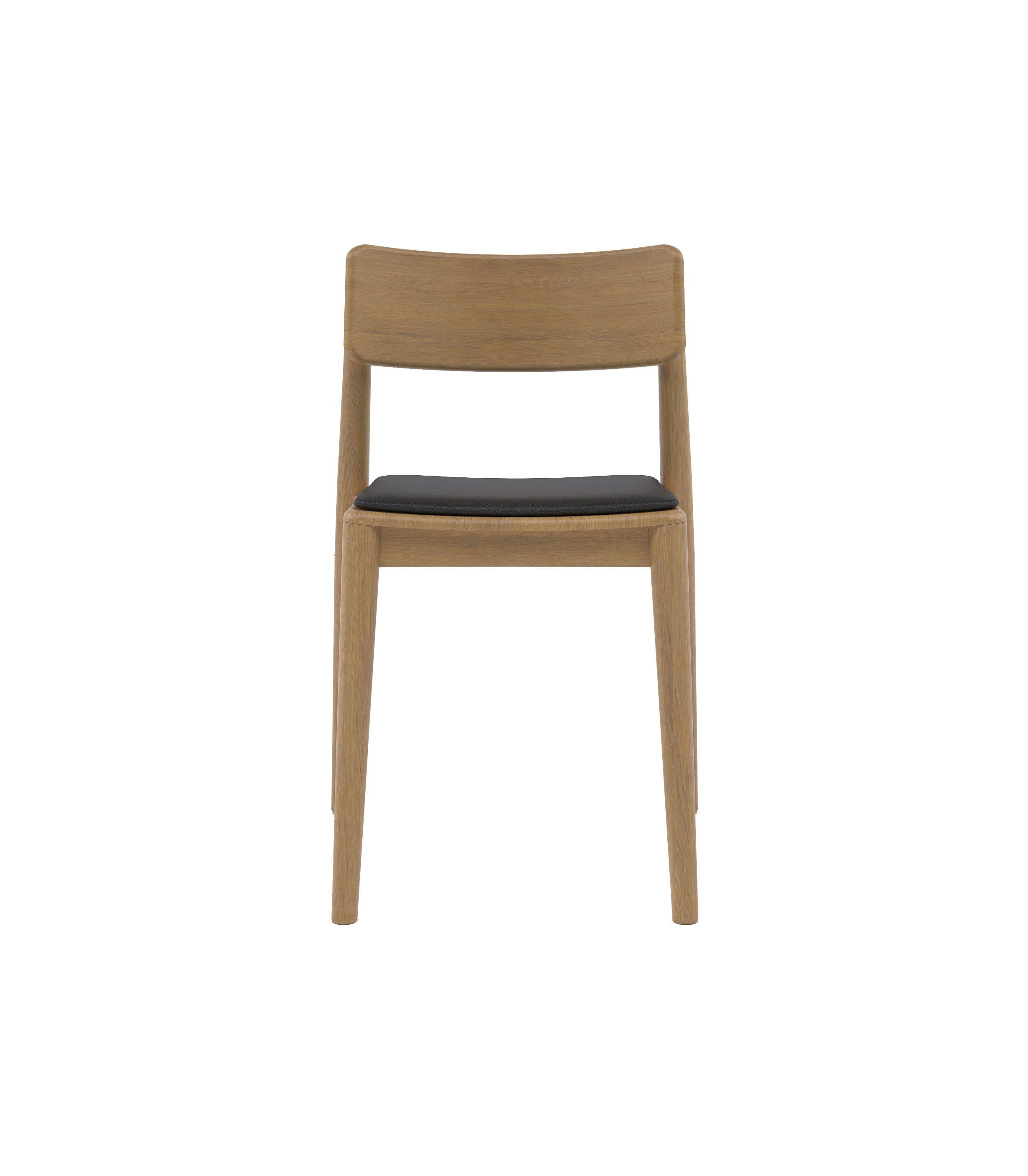 nowoczesne dębowe krzesło polski design